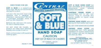 Soft & Blue