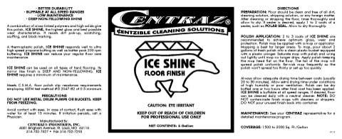 Ice Shine