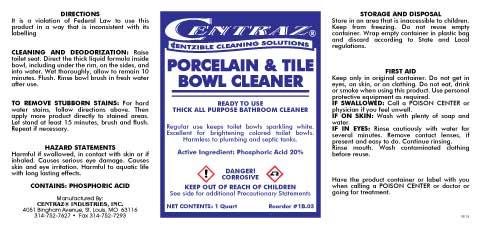 Tile&BowlCleaner(5-x-10.5)